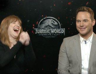Los sustos de Bayona a Chris Pratt y Bryce Dallas Howard en el rodaje de 'Jurassic World'