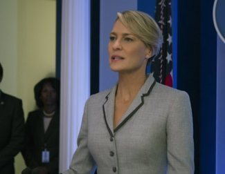 'House of Cards': Primer vistazo a Robin Wright como presidenta