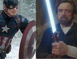 Chris Evans y Mark Hamill opinan sobre si una espada láser vencería al escudo del Capitán América