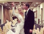 Kaley Cuoco se ha casado con Karl Cook en una boda llena de invitados de 'The Big Bang Theory'