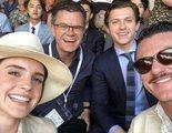 A los Vengadores les gusta el tenis: Tom Holland, Tom Hiddleston y más se dejan ver en la final de tenis de Wimbledon
