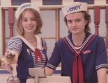 'Stranger Things': Nueva foto de Joe Keery y Maya Hawke en el rodaje de la tercera temporada