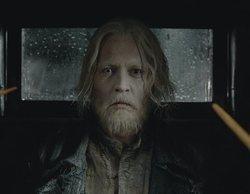 Mira a Johnny Depp completamente transformado en Grindelwald