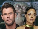 'Men in Black': Primer vistazo a Chris Hemsworth y Tessa Thompson luciendo el traje en el spin-off