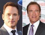 """El nuevo """"suegro"""" de Chris Pratt es Arnold Schwarzenegger"""