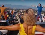 Recrean una escena de 'La La Land' aprovechando la huelga de taxistas de Barcelona