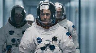 """Positivas críticas de 'First Man' de Chazelle: """"Nadie nos ha llevado al espacio así antes"""""""