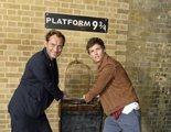 'Animales Fantásticos': Eddie Redmayne y Jude Law celebran la vuelta a Hogwarts en King's Cross