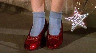 El FBI recupera los zapatos rojos de Dorothy 13 años después de su robo