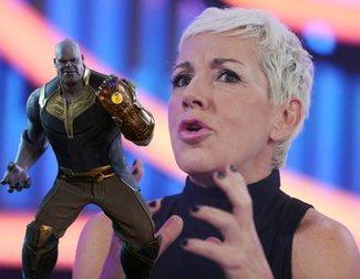 Ana Torroja llevó las Gemas del Infinto de Thanos en la Gala 0 de 'OT 2018'