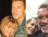 Schwarzenegger y Linda Hamilton se reencuentran y recrean una mítica foto