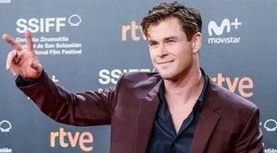 Así ha sido la visita de Chris Hemsworth (y sus padres) a España