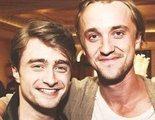 'Harry Potter': Daniel Radcliffe y Tom Felton se reencuentran en Nueva York
