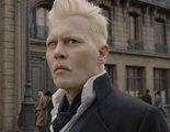 'Animales fantásticos 2': Johnny Depp es el responsable de los siniestros ojos de Grindelwald