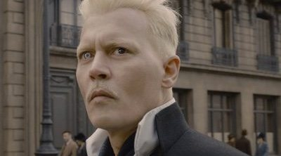 Johnny Depp tuvo la idea de los siniestros ojos de Grindelwald
