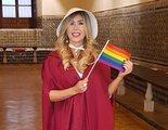 Malena Gracia se disfraza de 'El cuento de la criada' gay en un convento de Sevilla por alguna razón