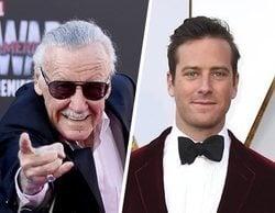 Armie Hammer la lía al criticar la forma de homenajear la muerte de Stan Lee