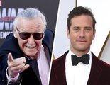 Armie Hammer la lía al criticar la forma de homenajear la muerte de Stan Lee en Twitter