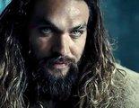 'Aquaman': Jason Momoa posa junto a su doble de cera
