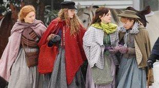 Emma Watson comparte una imagen con el reparto de 'Mujercitas'