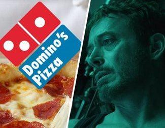 Domino's se ofrece a llevar pizza a Tony Stark cuando la NASA lo encuentre