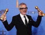 Alfonso Cuarón defiende a Netflix ante una pregunta 'injusta' en los Globos de Oro 2019