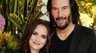 "Winona Ryder llama ""marido"" a Keanu Reeves"