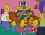 'Los Simpson' son víctimas de Thanos en el último gag del sofá