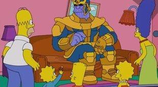 'Los Simpson' son las últimas víctimas de Thanos