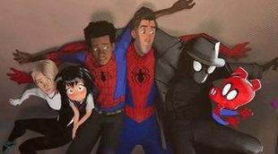 Tom Holland y los otros Spider-Man casi aparecen en 'Un nuevo universo'
