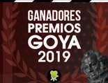 Todos los ganadores de los Premios Goya 2019