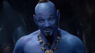 'Aladdín': Nuevo teaser con primer vistazo al genio de Will Smith (y sí, es azul)
