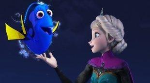 Dory conoce a Elsa en el nuevo y divertido montaje de 'Frozen 2'