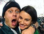 Lea Michele, protagonista de 'Glee', se casa con Zandy Reich
