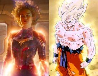 No eres la única persona que lo ha pensado: 'Capitana Marvel' se parece muchísimo a 'Dragon Ball'