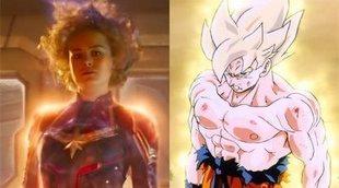Sí, 'Capitana Marvel' se parece muchísimo a 'Dragon Ball'
