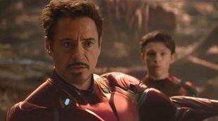 Cómo vivió Robert Downey Jr. esa escena con Tom Holland en 'Infinity War'