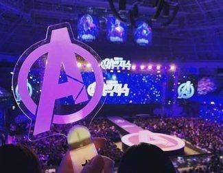 La loca presentación de 'Vengadores: Endgame' en Corea