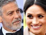 George Clooney defiende a Meghan Markle frente a la prensa