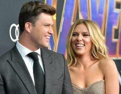 Scarlett Johansson se ha comprometido con Colin Jost