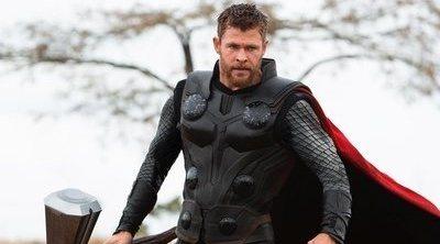 Esta es la mejor foto que verás de Chris Hemsworth en 'Vengadores: Endgame'