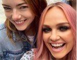 Emma Stone cumple su sueño: conocer a las Spice Girls