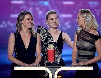 El gesto de Brie Larson en los MTV Awards que todo el mundo aplaude