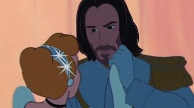 Así sería Keanu Reeves como todos los príncipes Disney