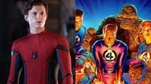 'Spider-Man: Far From Home' podría haber presentado a los Cuatro Fantásticos con este easter egg