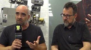 Entrevista a Luis Tosar y Paco Plaza ('Quien a hierro mata')
