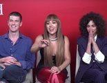 'Élite': Miguel Bernadeau, Danna Paola y Mina El Hammani sobre los nuevos alumnos de Las Encinas y el sexo