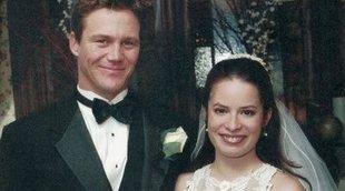 La protagonista de 'Hechiceras', Holly Marie Combs, se casa por tercera vez con la presencia de Brian Krause (Leo)