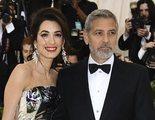 George Clooney en bicicleta provoca un atasco en Madrid rodando un anuncio de Nespresso
