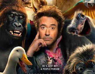 Primer póster de 'Dolittle', con Robert Downey Jr. y un repartazo